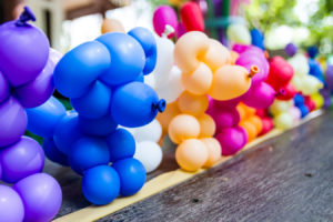 Learning Stem with balloons