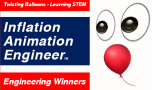 Inflation Animation Engineer Learning With Balloons